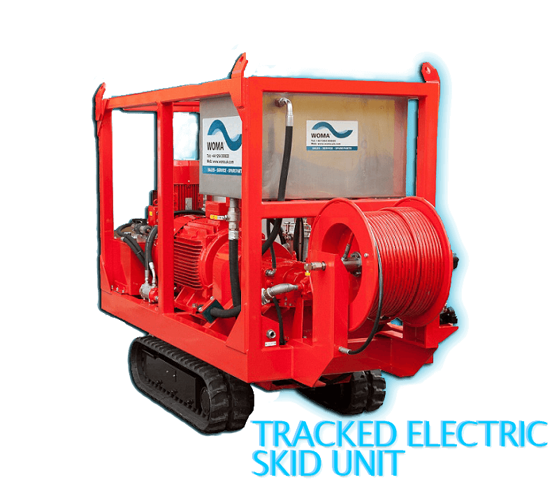Tracked Electric Skid Unit