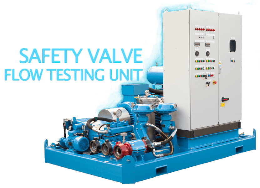 Safety Valve Flow Testing Unit